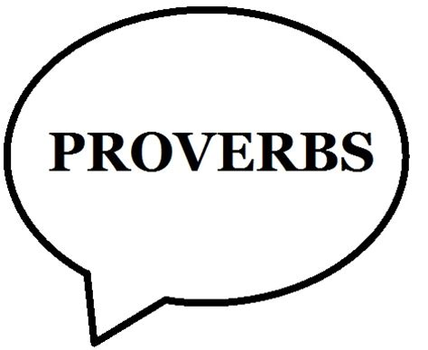 Using proverbs in essays the Bible